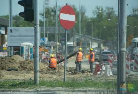 Przebudowa ulicy Towarowej w Olsztynie