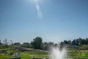 Zbiornik retencyjny przy ul. Bukowskiego