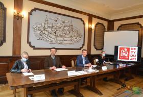 Konferencja prasowa poświęcona głosowaniu na projekty Olsztyńskiego Budżetu Obywatelskiego